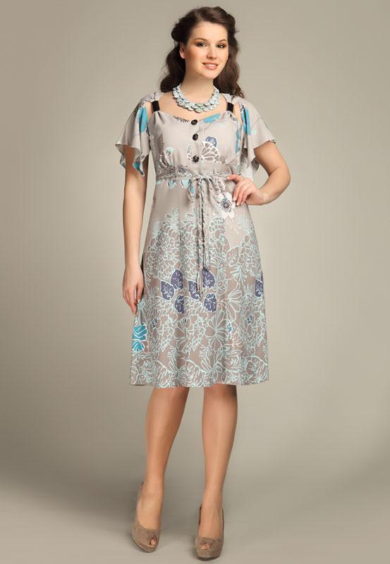 Купить Летнее Платье 50 52 Размера