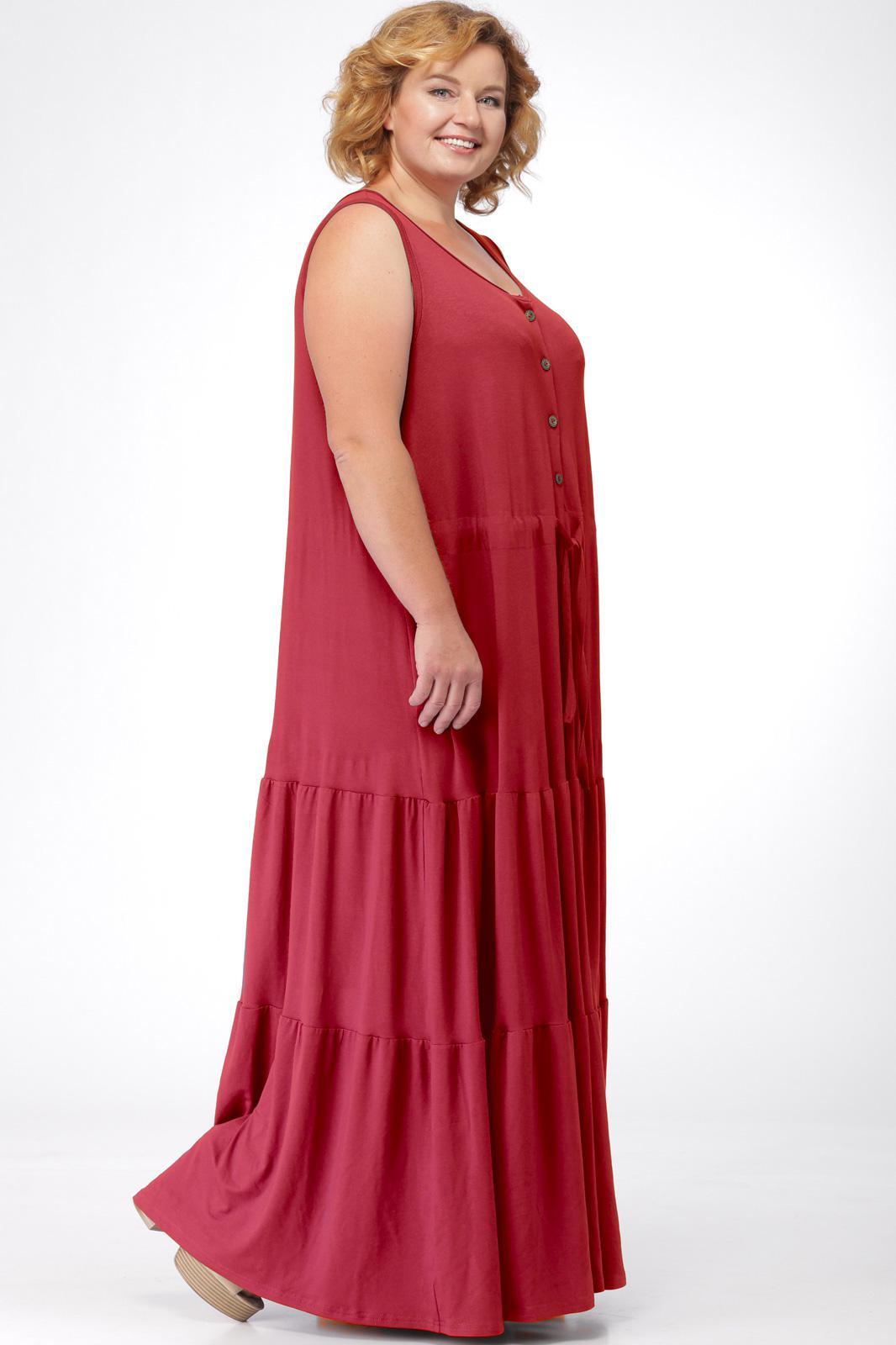 94fd444a50c98ad Платье Michel Chic, темно-красный (модель 904) — Белорусский ...