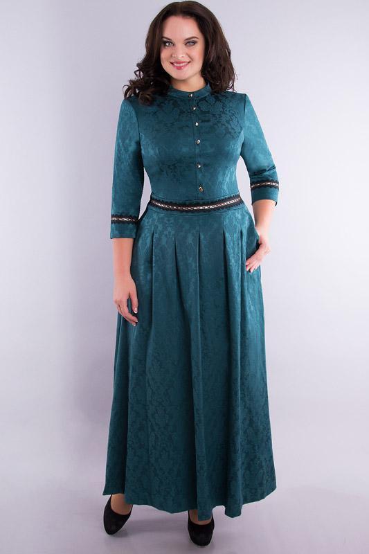 Купить Платье Дали, 530 бирюзовый, Беларусь