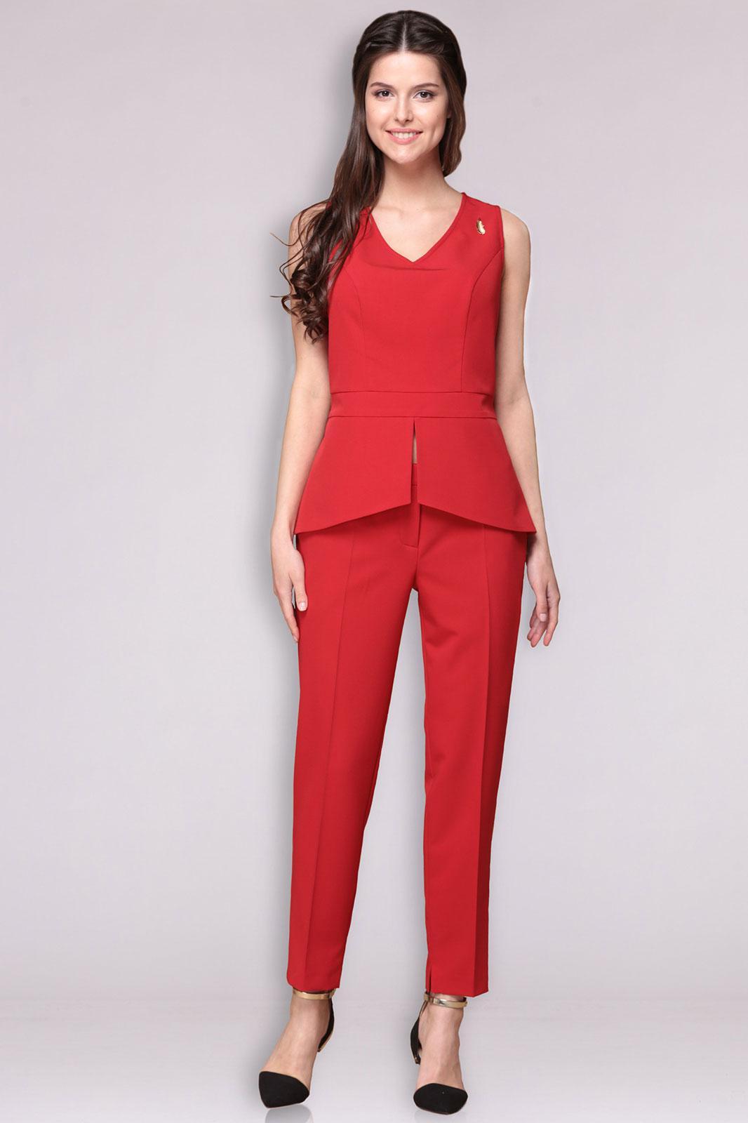 Красные Блузки Купить