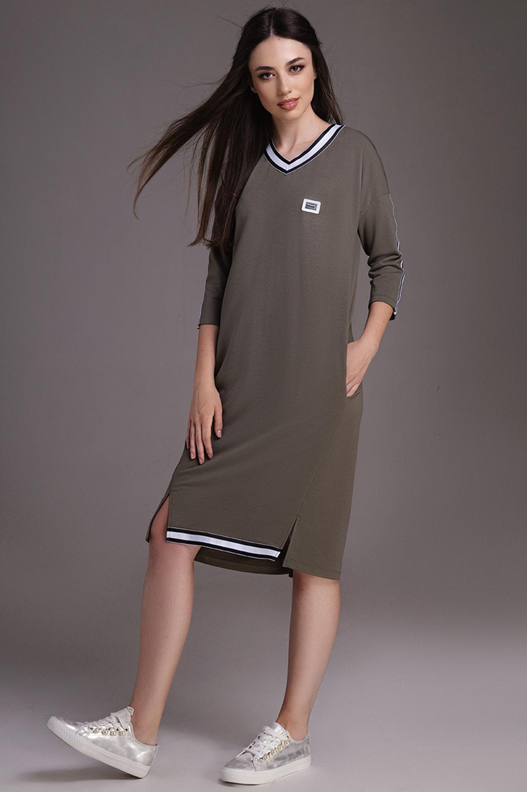 Купить Платье Dilanavip, 1175 хаки, Беларусь