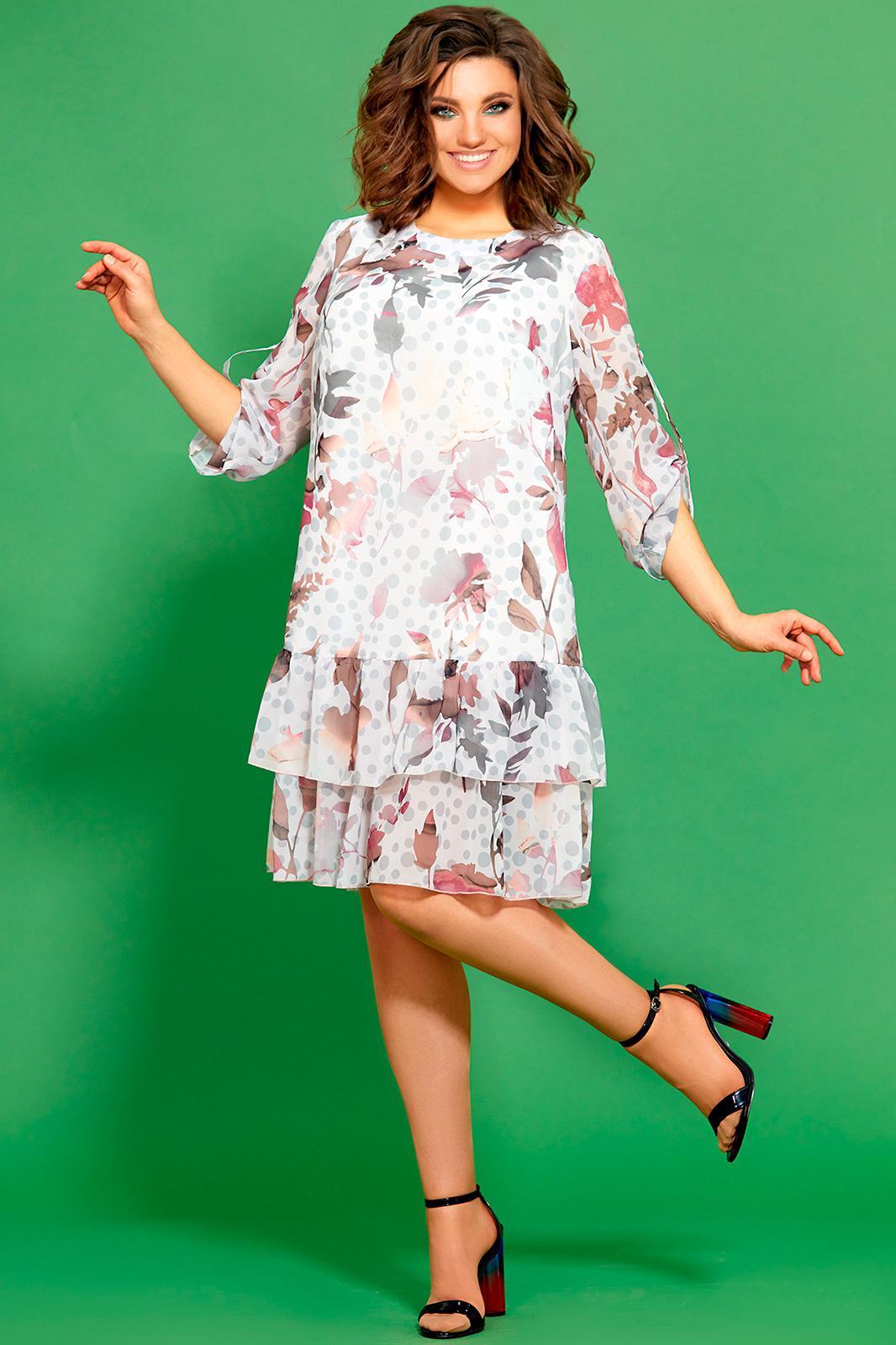 сути, фото шифоновых платьев для полных на лето даже