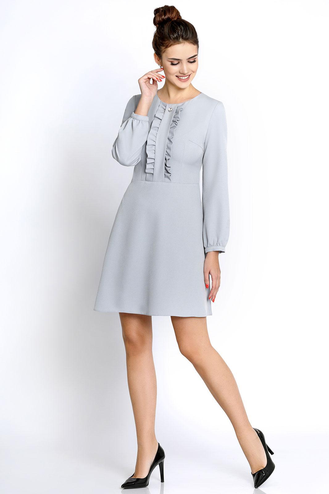 Купить Платье Pirs, 245 серебристый, Беларусь