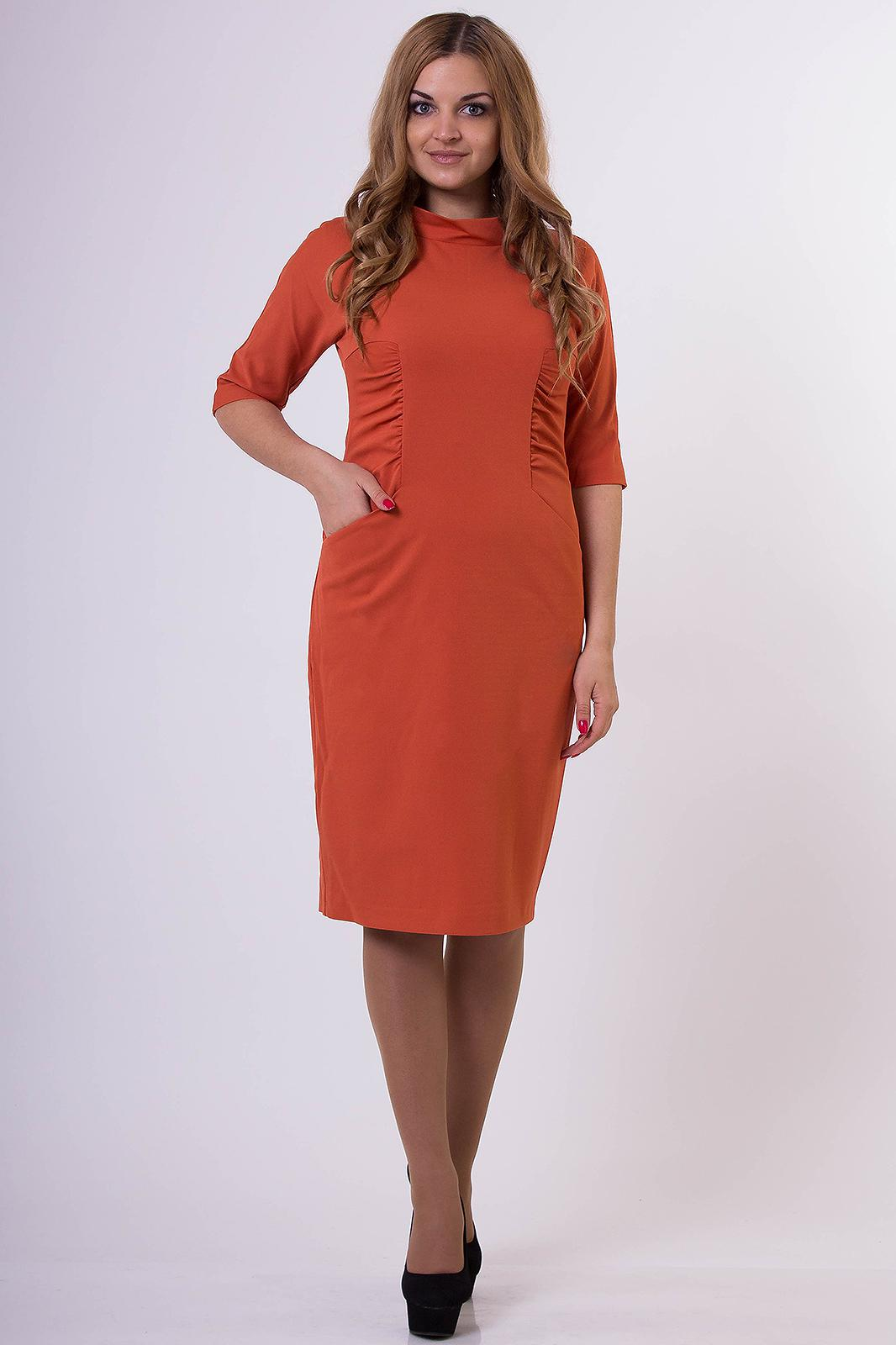 Купить Платье Anna, 768 терракотовый., Беларусь