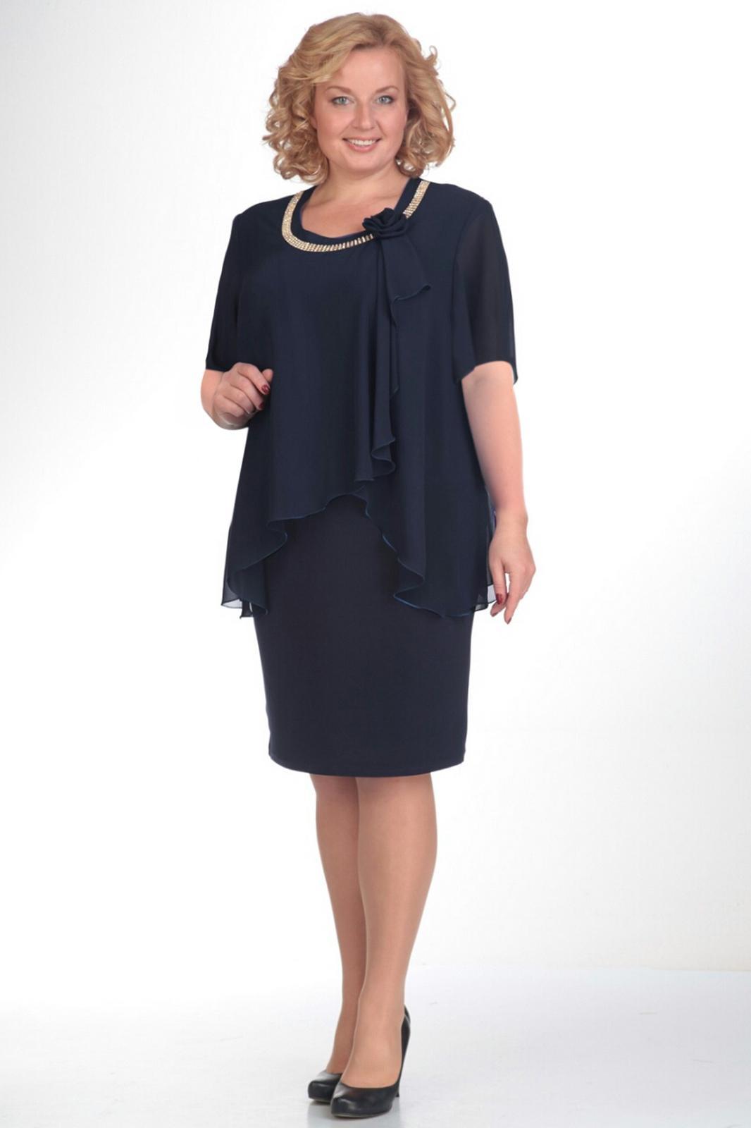 Купить Платье Pretty, 244 темно-синий, Беларусь
