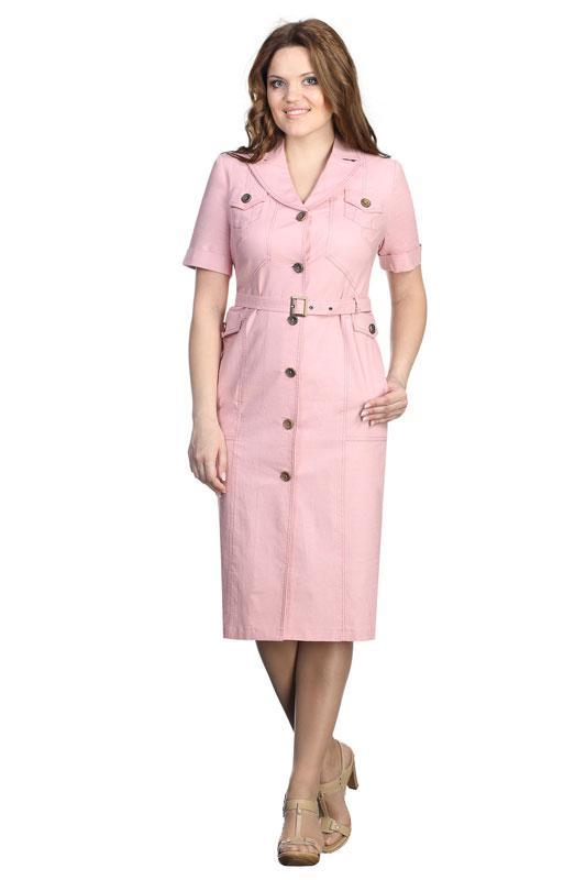 Купить Платье Линия-Л, 139В светло-розовый, Беларусь