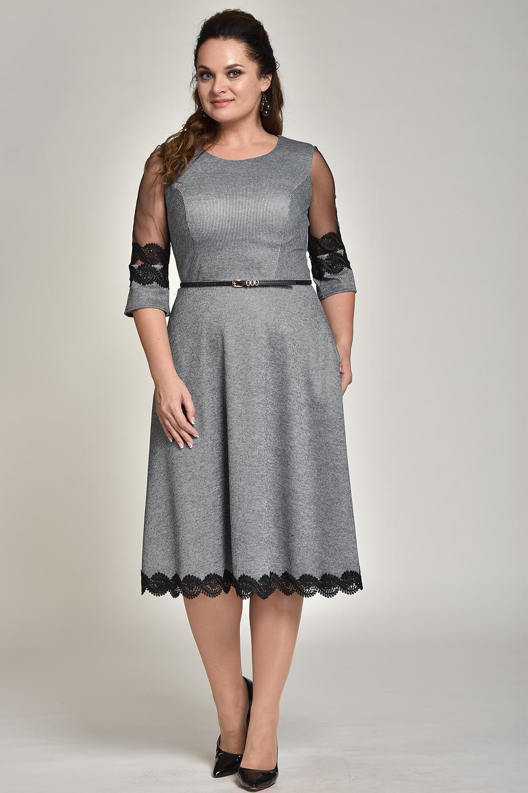 Купить Платье Solomea Lux, 506 серебристый, Беларусь