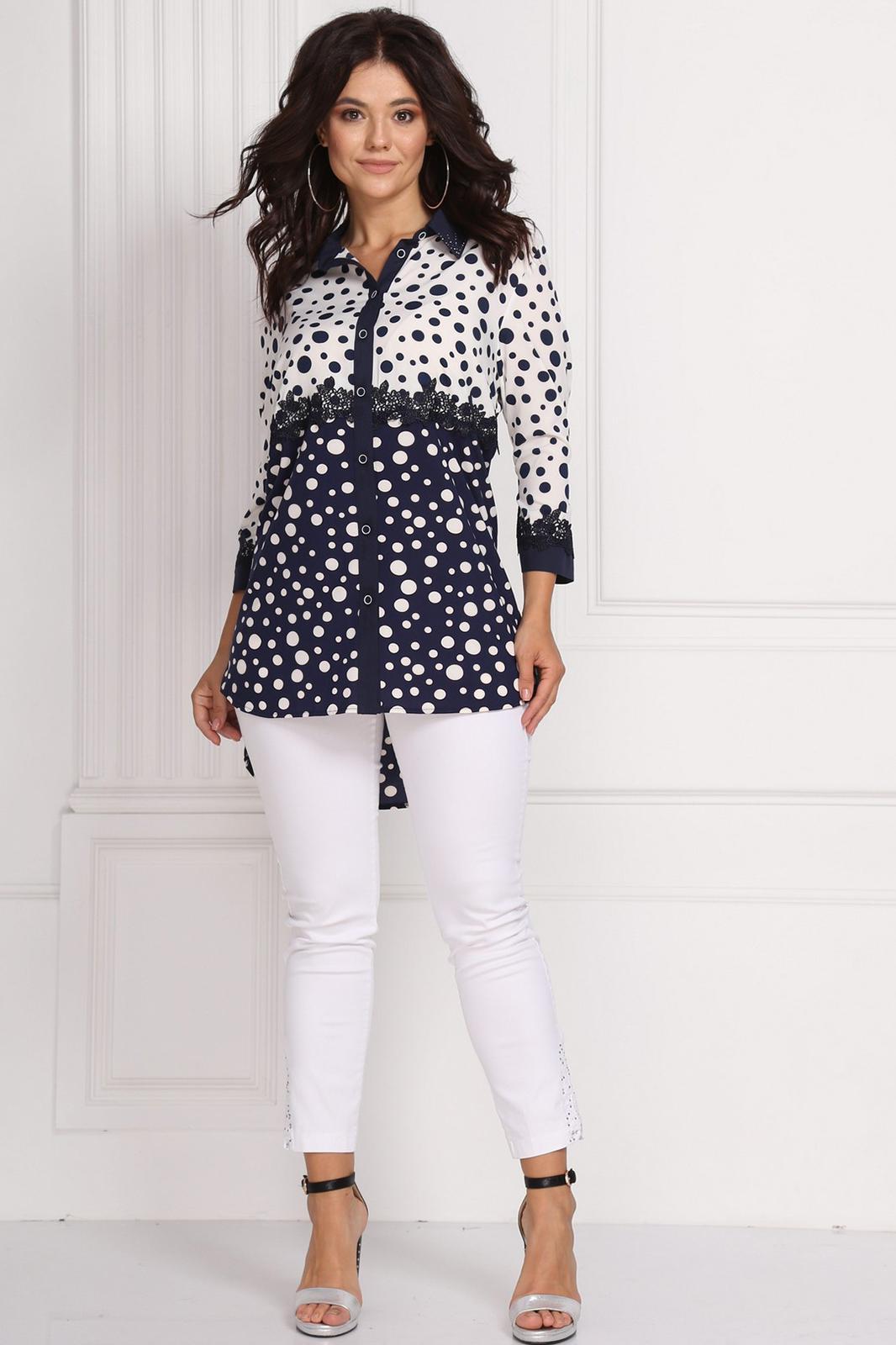 3652e7ea51544 Купить блузку большого размера в Минске. Блузки для полных женщин