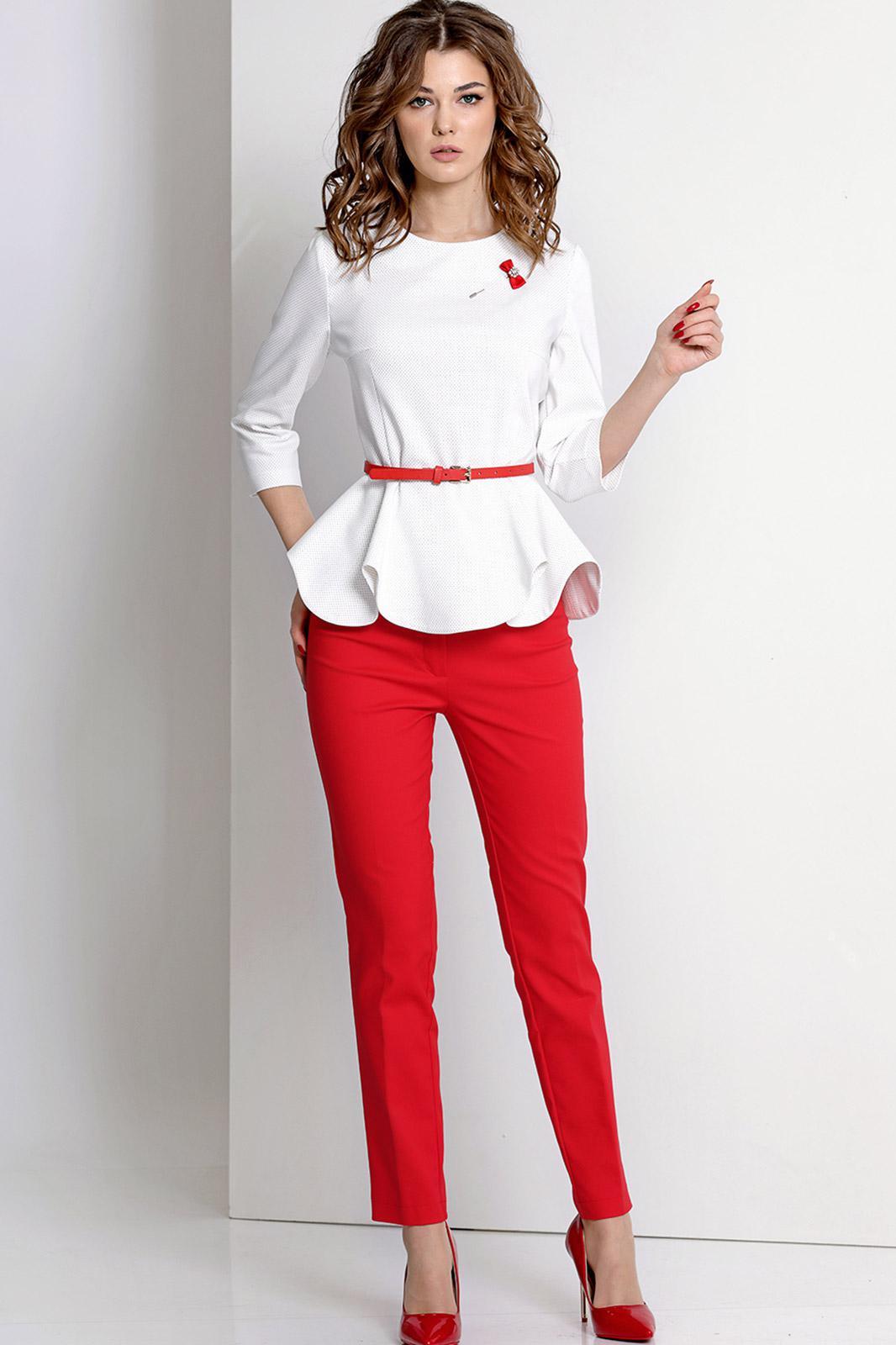 блузки под брюки фото простой метод