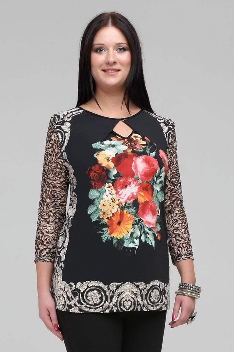 Купить Блузка Matini, 4807 с цветами, Беларусь