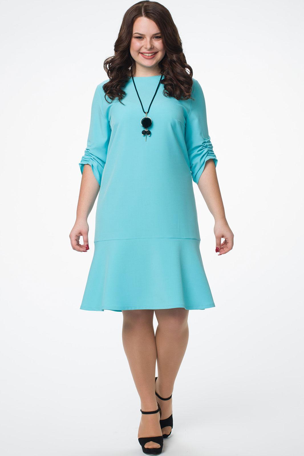 Купить Платье Melissena, 879 бирюзовый, Беларусь