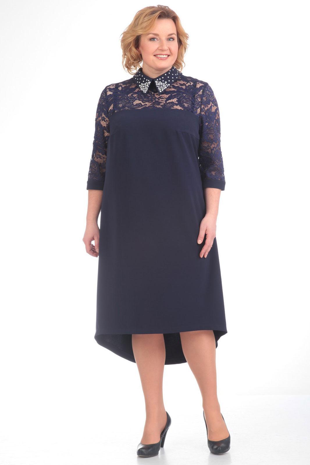 Купить Платье Pretty, 538 темно-синий, Беларусь