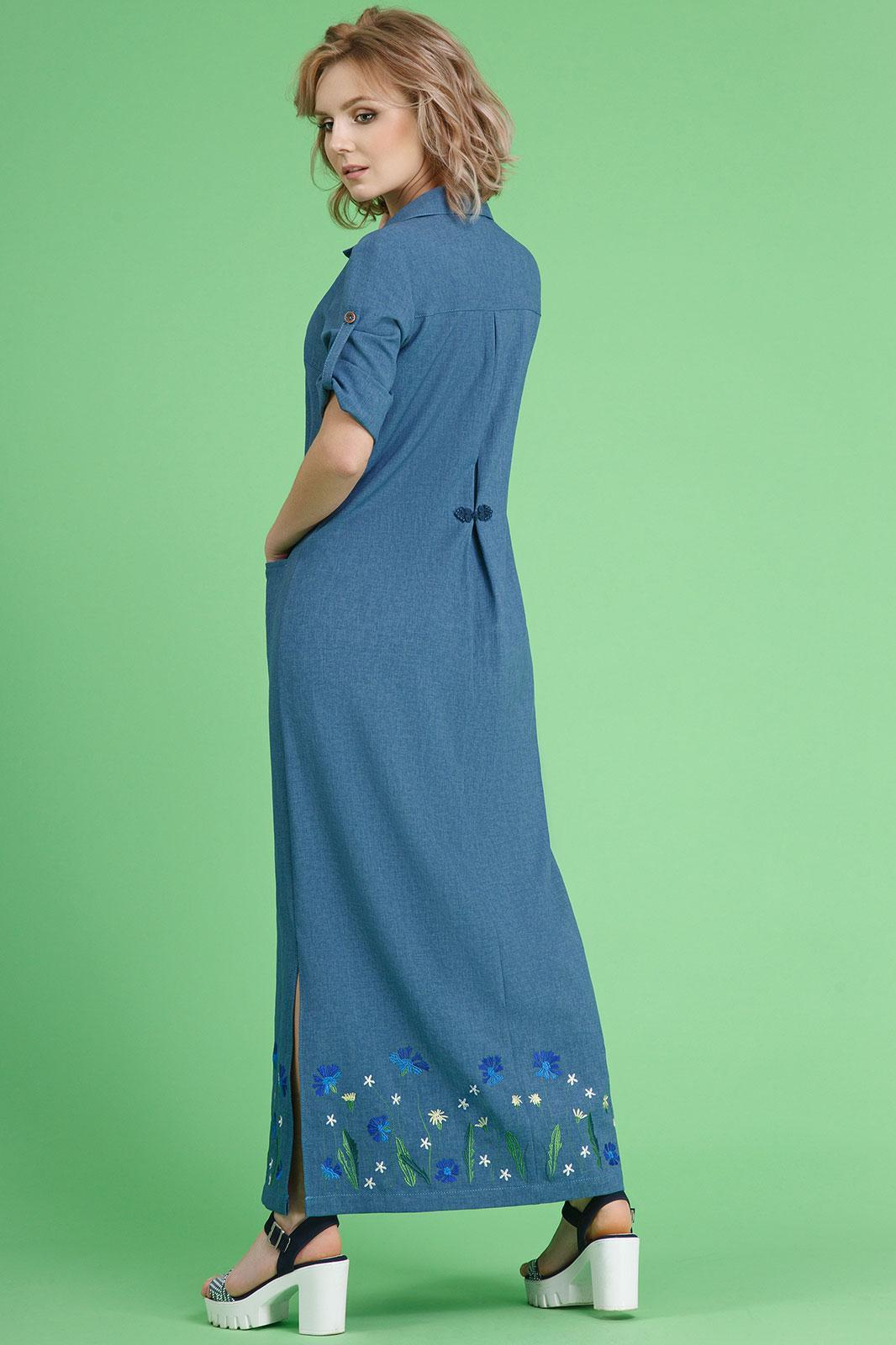 вечернее платье русалка с рукавами