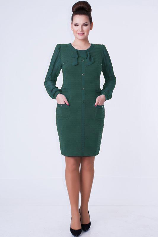 Купить Платье Дали, 1349 зелень, Беларусь