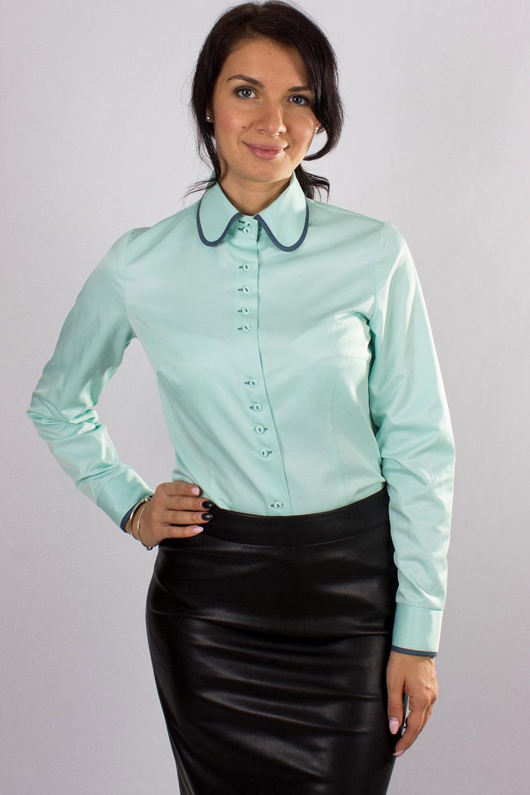Купить Блузка Nadex, 335022 бирюзовый 170, Беларусь