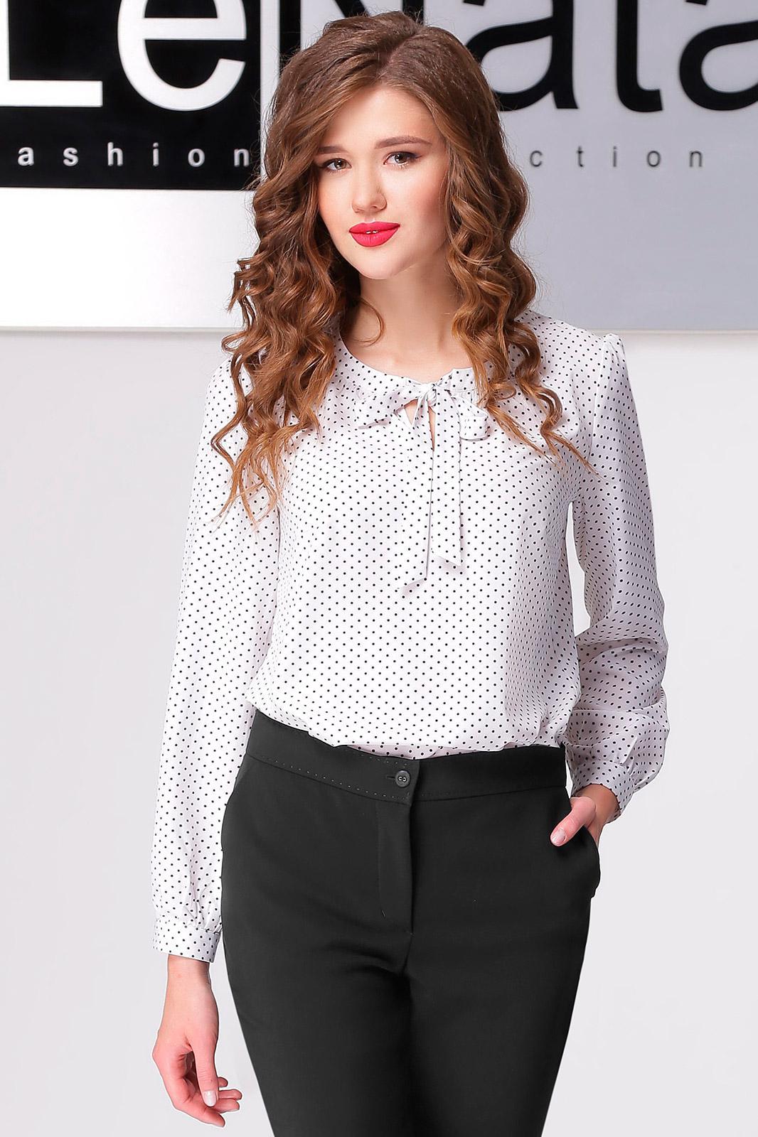 Блузка В Горох Купить В Интернет Магазине