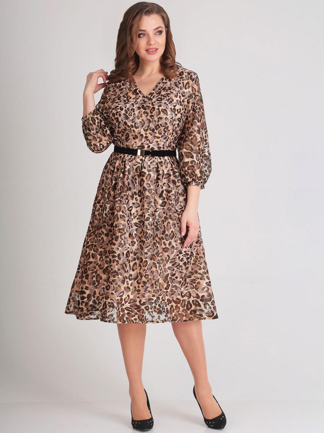 Купить Платье Асолия, 2400 леопард, Беларусь