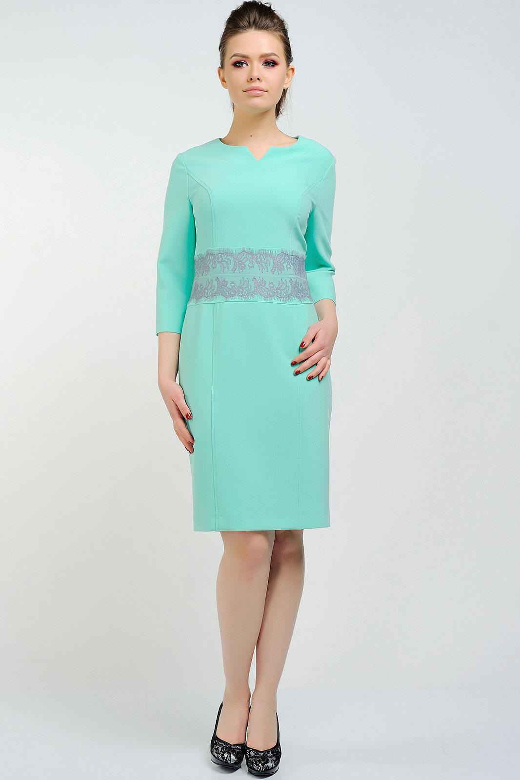 Купить Платье Danaida, 1366 бирюзовый, Беларусь