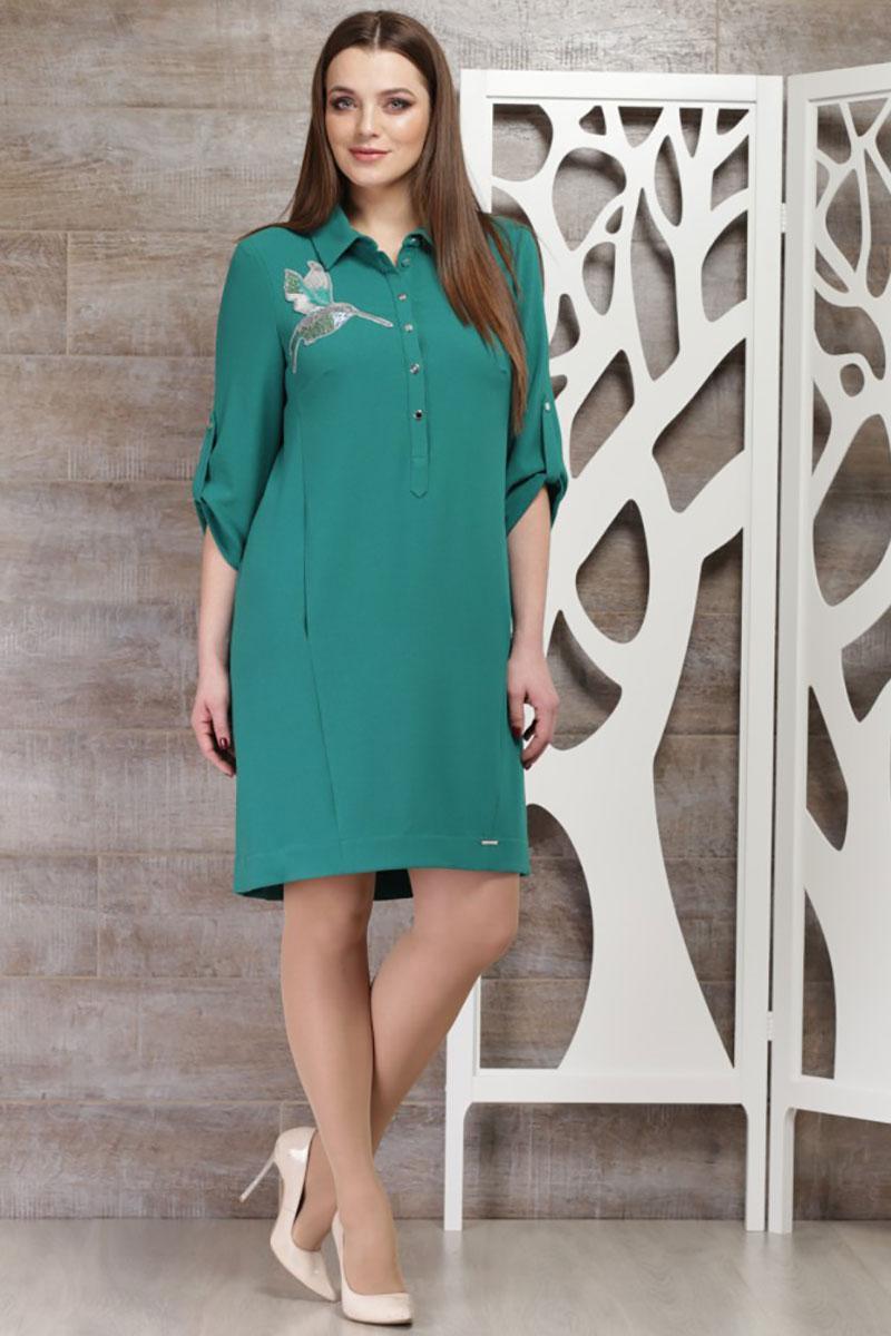 Купить Платье Таиер, 639 зеленый оттенок, Беларусь