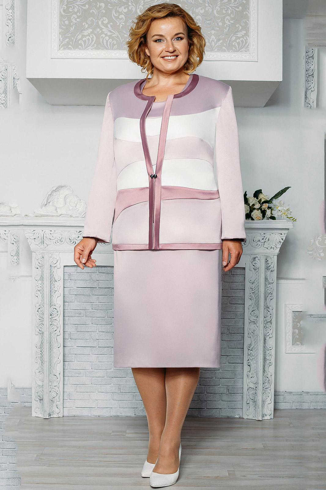 Белорусские Платья С Жакетом Больших Размеров