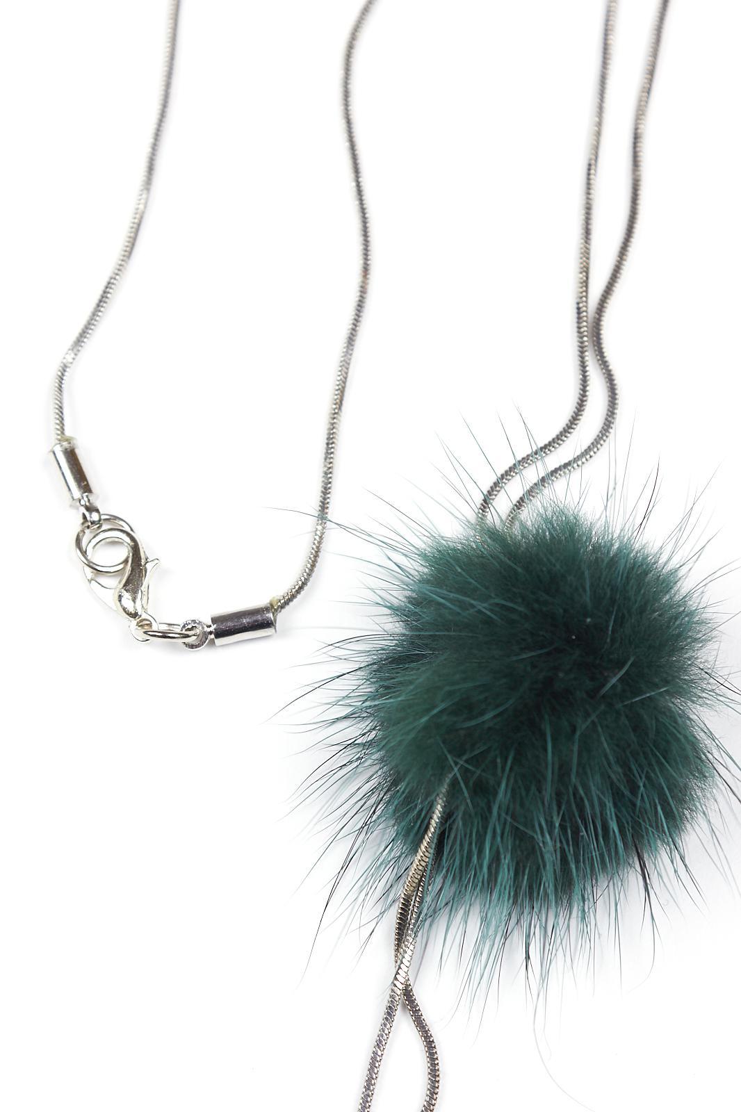 Купить Подвеска Fashion Jewelry, Подвеска 9705 серебро+зелёный, Китай