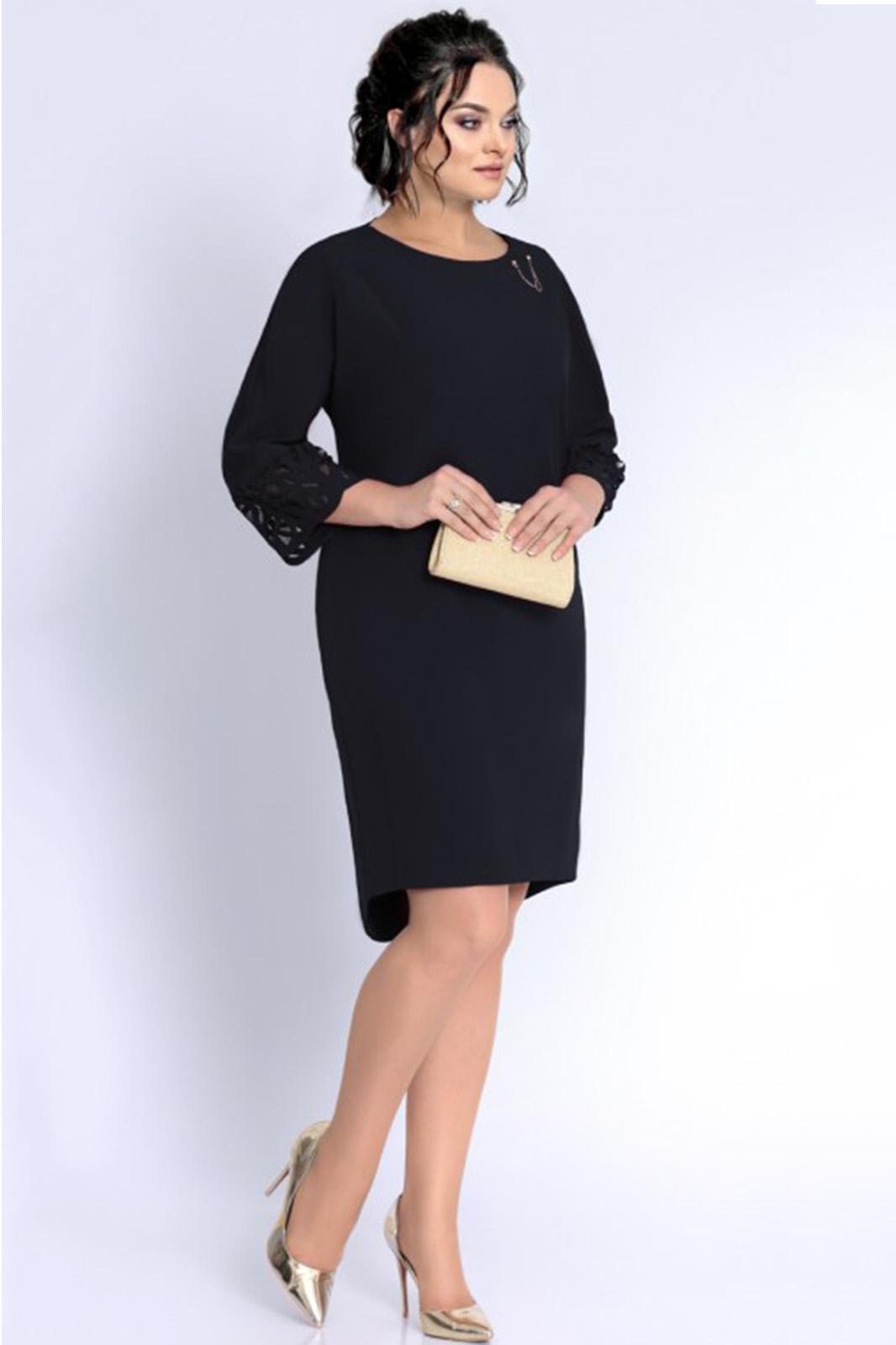 Купить Платье Джерси, 1754 черный, Беларусь