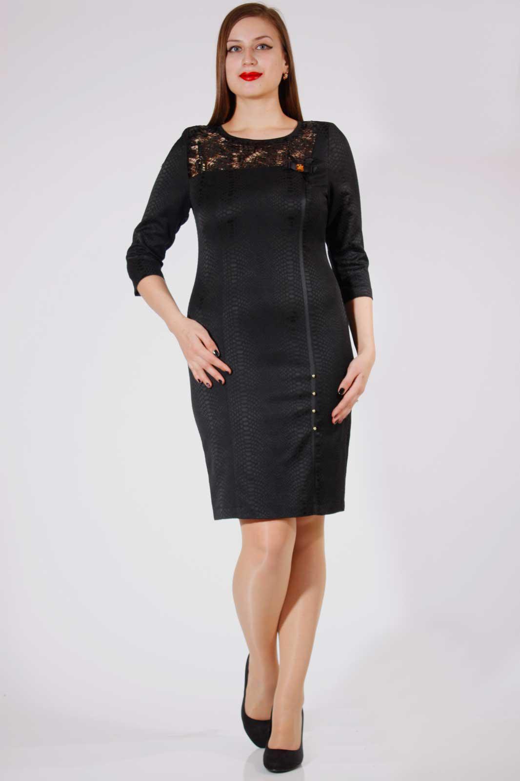 Купить Платье Дали, 547 черный, Беларусь