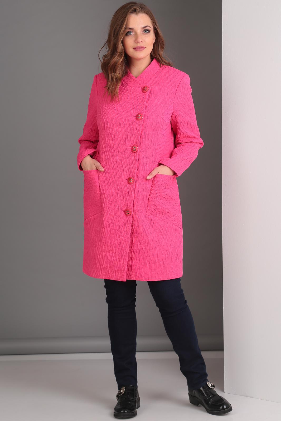 Купить Пальто Anastasia Mak, 529 фуксия, Беларусь