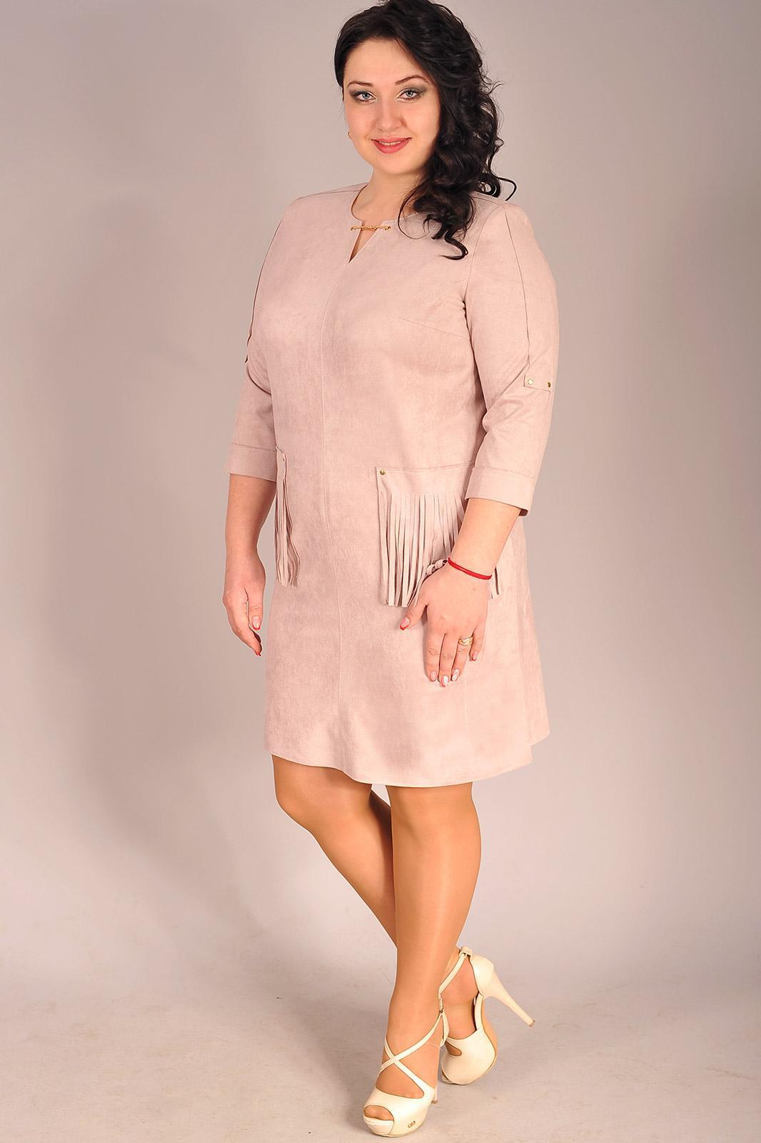 Купить Платье Edibor, 1049 пудра, Беларусь