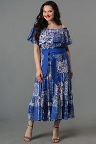 4066 синий Andrea Style