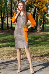 Модель 1813 серо-коричневый оттенок Beautiful & Free