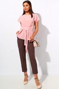 Модель 1165 пудра+коричневый МиА Мода