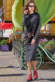 Модель 2903-А серый Niv Niv Fashion