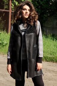 Модель 1401 чёрный с серым Runella