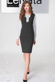 21794 черный+белая блузка LeNata