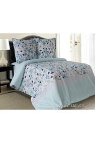 Модель 4126.520101 Дюшес бирюзовый+цветы Блакiт
