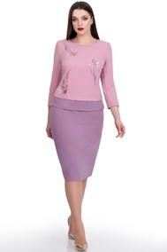 Модель 746 светло-розовый+клевер Мишель стиль