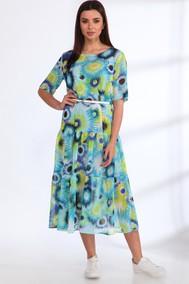 Модель 539 голубые цветы Angelina & Company