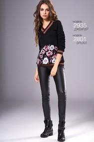 Модель 2935 черный Niv Niv Fashion