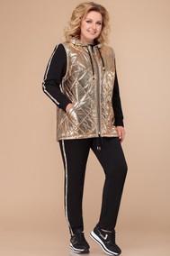 Модель 1265 черный+золото Svetlana Style