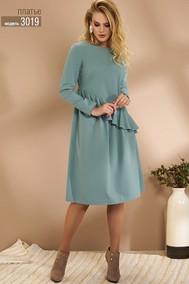 Модель 3019 серо-бирюзовый Niv Niv Fashion