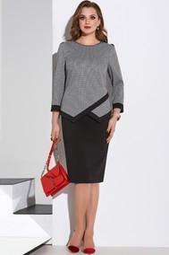 Модель 4195 серый с черным Lissana