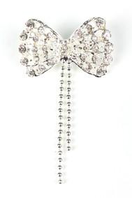 Модель Бантик 62319 серебро Fashion Jewelry