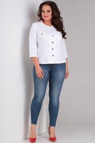 Модель 447 джинс белый new Rishelie