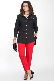 Модель 1559 черный+красный Teza