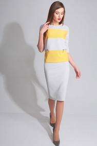 Модель 26101  серый+желтый Axxa
