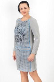 540 серый с голубым Madame Rita