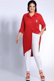 Модель 1698 красный+белый Джерси