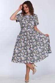 Модель 1270/21 Оливково-белые цветочки Lady Style Classic