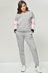 Модель 1930 светло-серый+розовый Taita plus